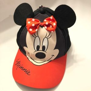 Minnie Mouse Children's Cap with pop up ears